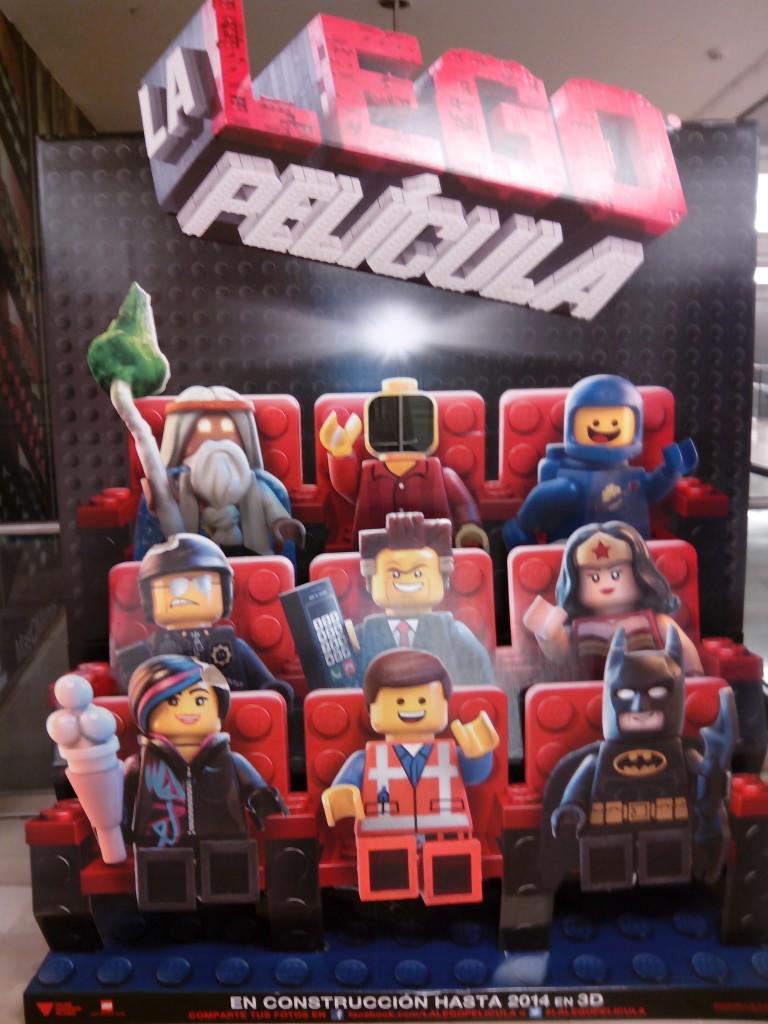 Cartel 3D de la Lego Película