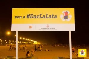 Cartel de ven a #DarLaLata