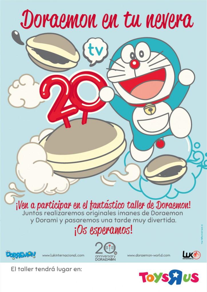 Doraemon en Toys R' Us
